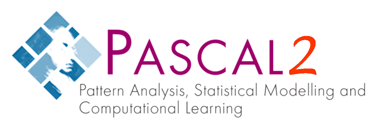 PASCAL - Pattern Analysis, Statistical Modelling and Computational Learning