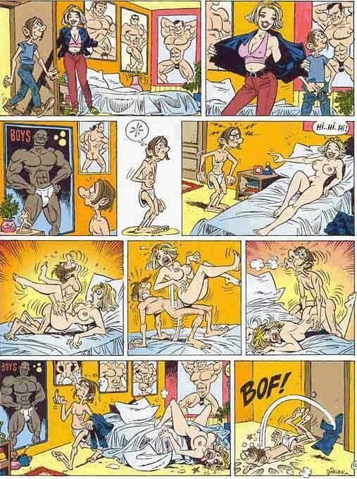 секс комиксы рисованные